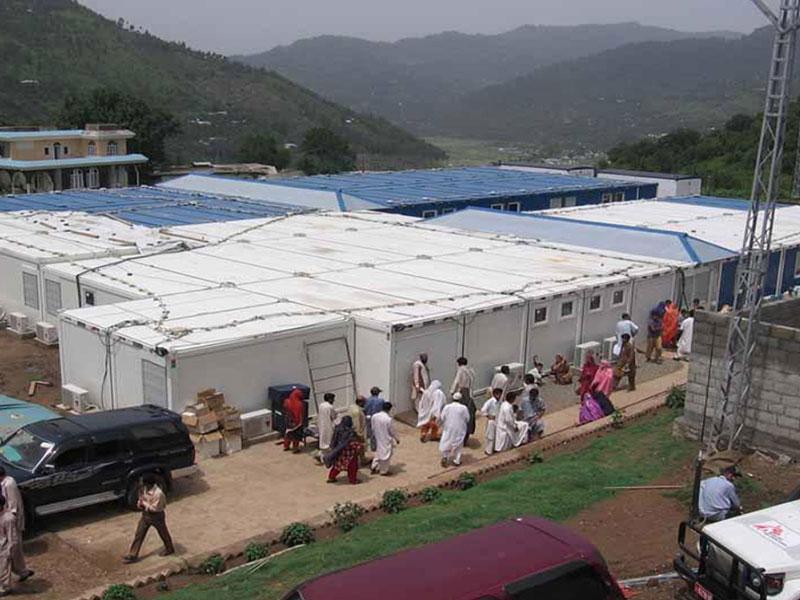 Containerbauten für NGO