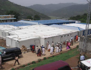 Container für Flüchtlingslager