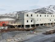 Container für Unterkünfte für Minengesellschaften