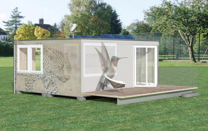 Wohnen Im Container Haus Flexibel Attraktiv Kosteng Nstig